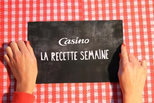 RECETTE CASINO